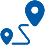 transit icon (blue)