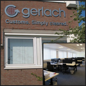 Photo of the new Gerlach Customs office in Rotterdam / Netherlands